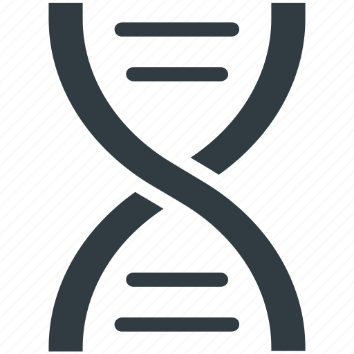 cell, dna, dna helix, dna strand, genetic icon