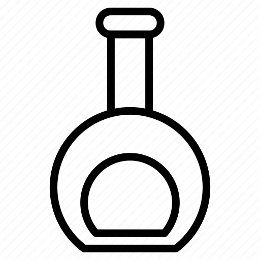 conical, flask, research, science, tube icon