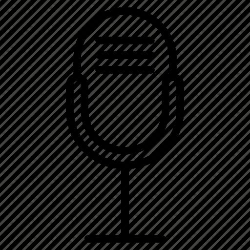 mic, mike, multimedia, speak, speaker icon