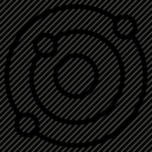 atom, design, element, marketing, molecular icon