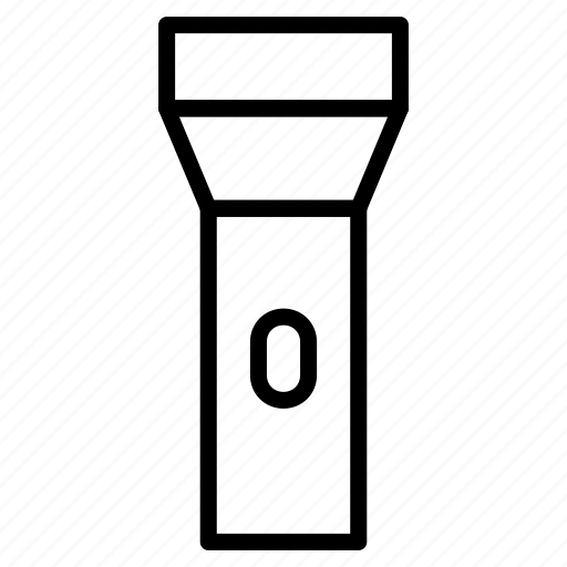 flash, flashlight, lantern, torch icon