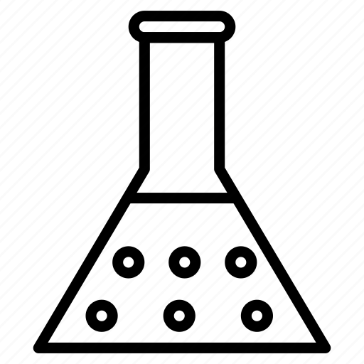 beaker, chemical, equipment, experiment, tube icon
