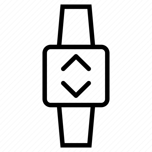 device, schedule, smartwatch, timepiece, watch icon