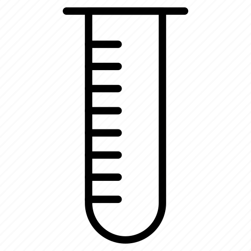 conical flask, experiment, flask, tube icon