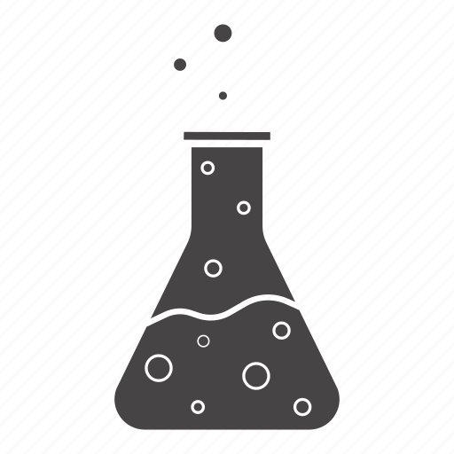 boiling, bulb, chemical agent, lab flask, liquid, reagent, vessel icon