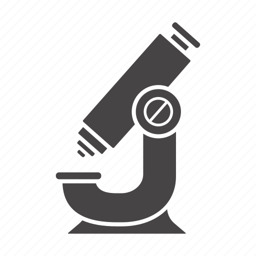 equipment, lab, laboratory, magnifier, microscope, research, science icon