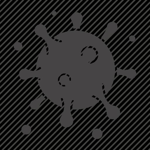 antigen, disease, epidemic, infection, particle, patogen, virus icon