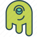 alien, avatar, figure icon