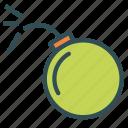 bomb, explosion, tnt icon