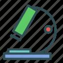 equipment, lab, laboratory, microscope icon
