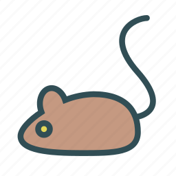 animal, avatar, figure, mouse icon
