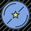 circle, favorite, planet, star icon