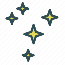 astronomy, sky, space, star icon
