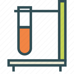 container, flask, laboratory, test, tube icon