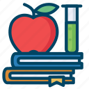 book, chemistry, education, laboratory, research, science icon