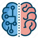 brain, mind, science icon