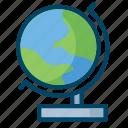 global, globe, science, world