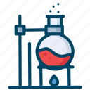 chemistry, experiment, research, science icon