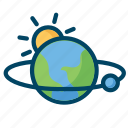 earth, globe, planet, science icon