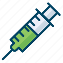 experiment, injection, laboratory, science icon