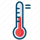 experiment, laboratory, science, termometer icon