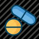 drug, laboratory, medicine, science icon