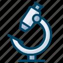 experiment, lab, laboratory, microscope, science icon