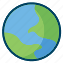 earth, planet, science icon