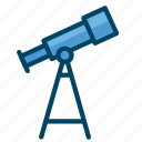 astronomy, science, space icon