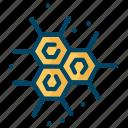atom, chemistry, science icon