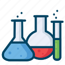 experiment, laboratory, research, science icon