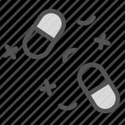 drugs, laboratory, pharmacy, pills icon
