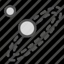 earth, solar, space, sun, system icon