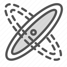 motion, planet, solar, sun, system icon