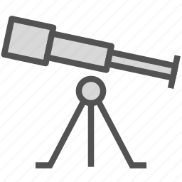 astronomy, observation, space, telescope icon