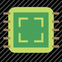 chip, circuite, electronics icon