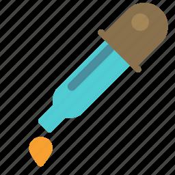 drop, eye, flask, lab, laboratory, test icon