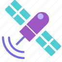 machine, made, man, radio, satellite icon