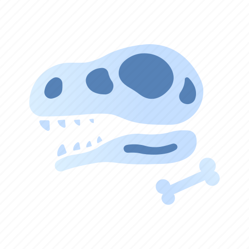ancient, archaeology, dinosaur, excavation, fossil, history, science icon