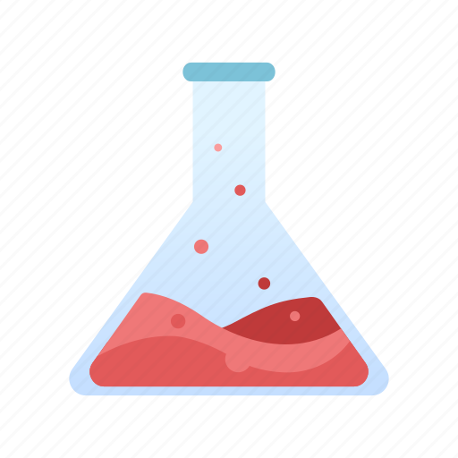 chemistry, chemistry flask, experiment, laboratory, research, science, technology icon