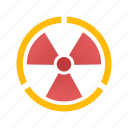 energy, nuclear, nuclear energy, radiation, radioactive, science, technology icon