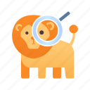 animal, examine, nature, observation, science, wildlife, zoology icon