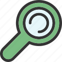 find, research, science, search icon