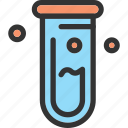 laboratory, science, test tube, tube icon