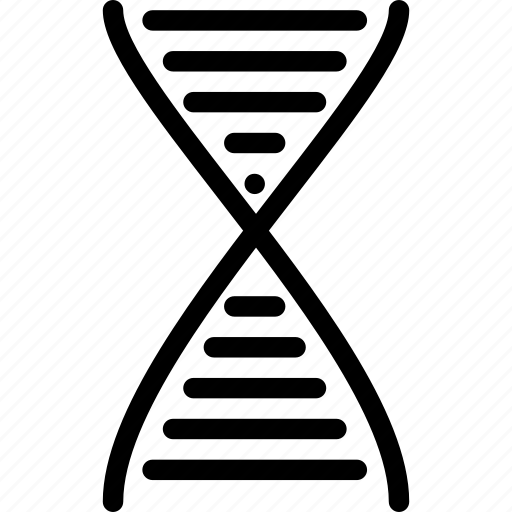 chromosome, creative, dna, gene, genetics, grid, helix, objects, rna, science, shape, strand icon