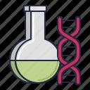 bioengineering, dna, genetics icon