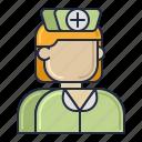 healthcare, nurse, nursing icon