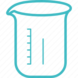 beaker, flask, jug, laboratory, science icon