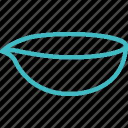bowl, dish, evaporating icon