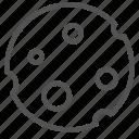 moon, satellite, space icon